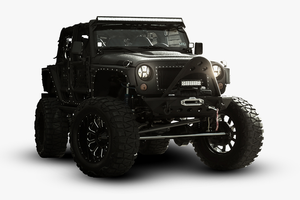 Jeep Wrangler Unlimited Full Metal Jacket 1