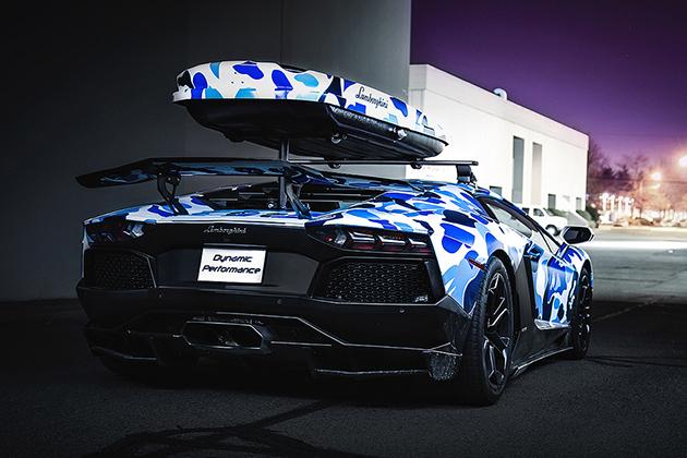 Lamborghini X Bape Arctic Camo Adventador Lifestyle For