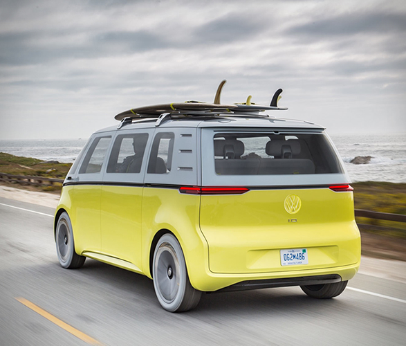 Take A Look Inside The Volkswagen Electric Microbus On