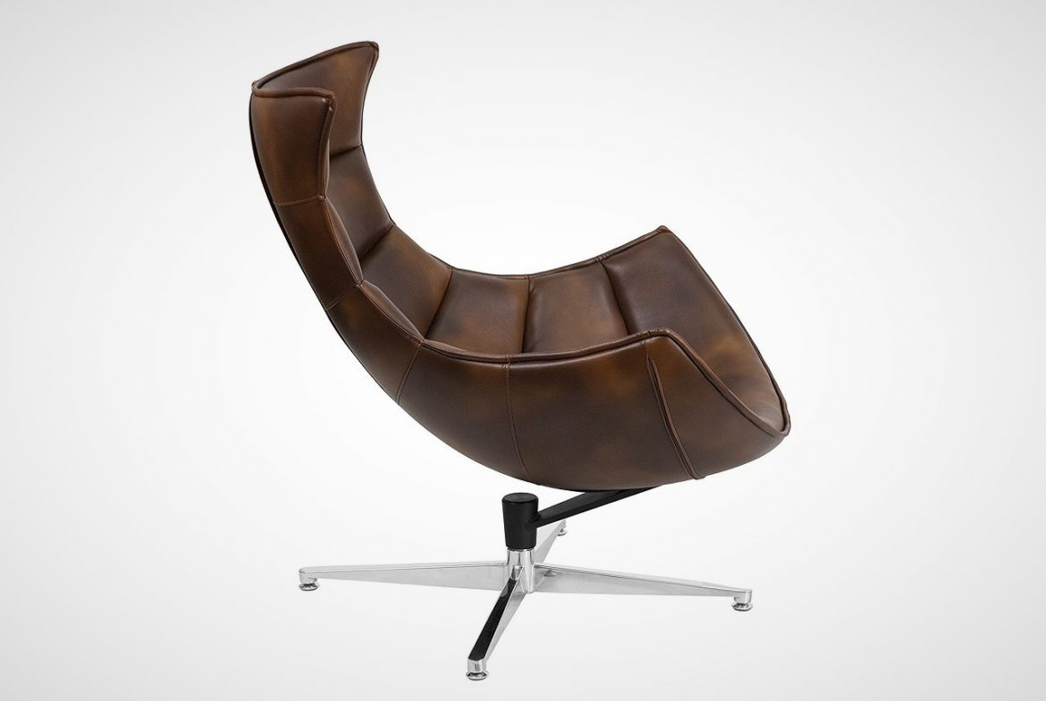 bomber jacket cocoon chair