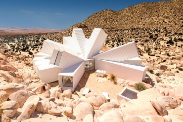 joshua tree container house