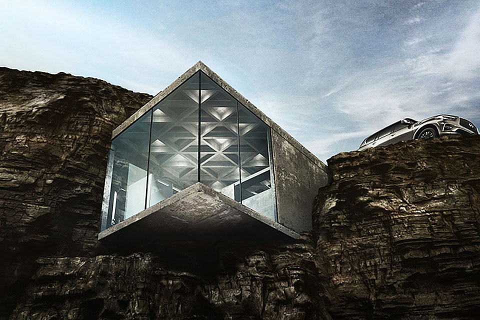 Check Out The Maralah Cliff House On Lfmmag Com
